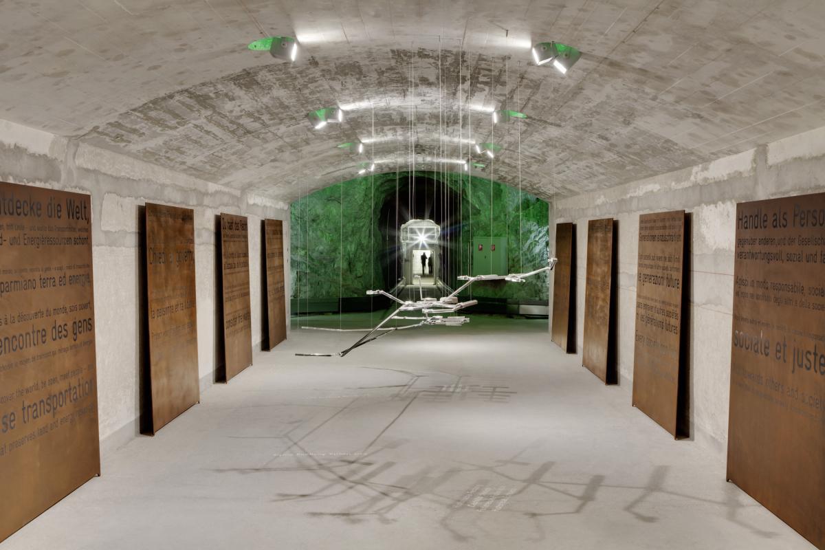Sasso San Gottardo Raum 4